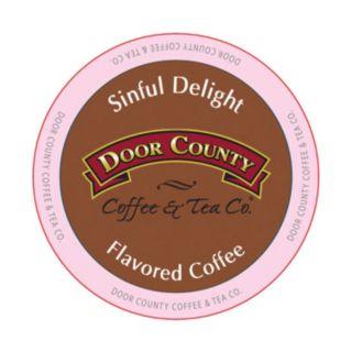 Door County Coffee & Tea Co. Single-Serve Sinful Delight Medium Roast Coffee - 12-pk.