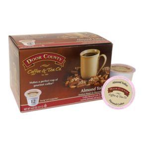 Door County Coffee & Tea Co. Single-Serve  Almond Toffee Medium Roast Coffee - 12-pk.