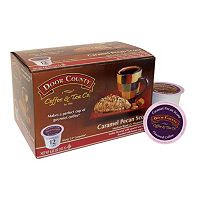 Door County Coffee & Tea Co. Single-Serve Caramel Pecan Scones Medium Roast Coffee - 12-pk.