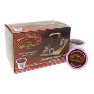 Door County Coffee & Tea Co. Single-Serve  Chocolate Caramel Medium Roast Coffee - 12-pk.