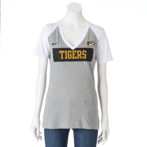 Women's Nike Missouri Tigers Football Top