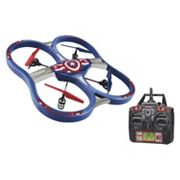 Marvel Captain America 2.4GHz 4.5CH RC Super Drone by World Tech Toys