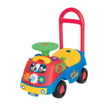 Disney's Mickey & Friends Activity Gears Mickey Mouse Ride-On by Kiddieland