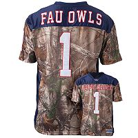 Men's Florida Atlantic Owls Game Day Realtree Camo Jersey