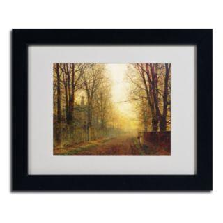 Trademark Fine Art ''Whitby'' Matted Framed Art