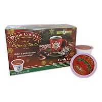 Door County Coffee & Tea Co. Single-Serve Candy Cane Medium Roast Coffee - 12-pk.