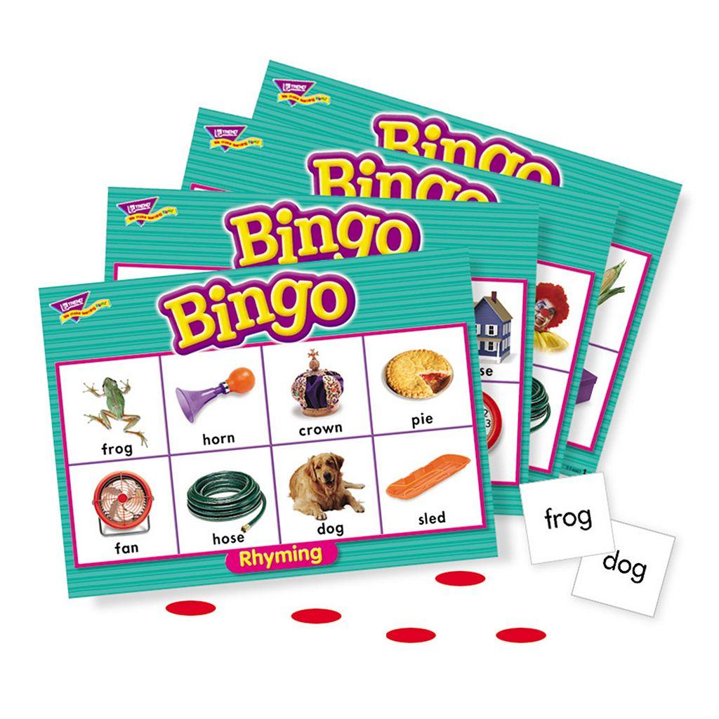TREND enterprises Rhyming Bingo Game