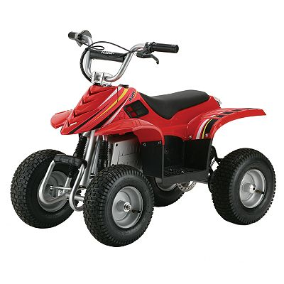 Razor Dirt Quad - Red