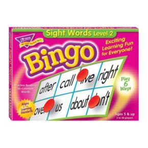 TREND enterprises Sight Words Level 2 Bingo Game
