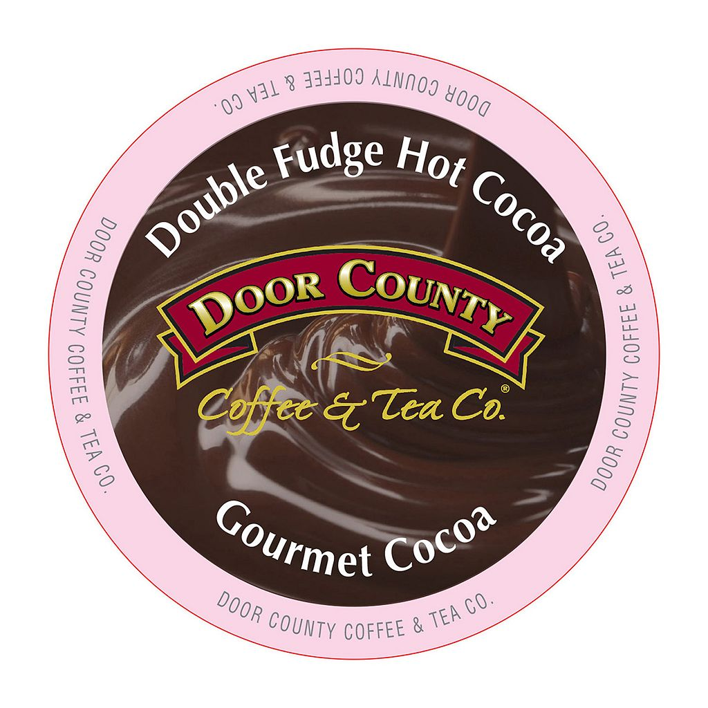Door County Coffee & Tea Co. Single-Serve Double-Fudge Hot Chocolate - 12-pk.