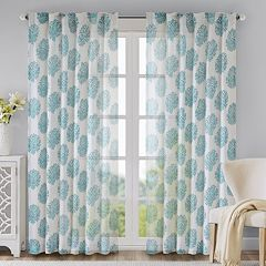 Madison Park 1-Panel Addison Anthro Window Curtain