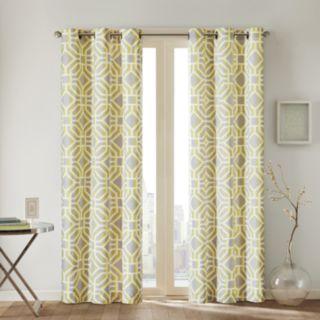 Intelligent Design 1-Panel Alana Window Curtain