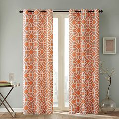 Intelligent Design 1-Panel Alana Window Curtain