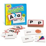 TREND enterprises, Inc. Uppercase & Lowercase Alphabet Fun-to-Know Puzzles