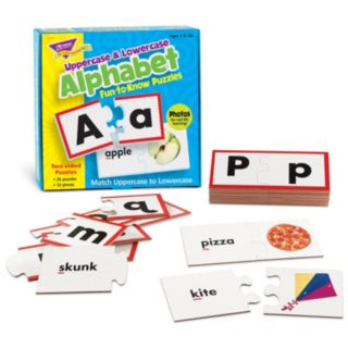 TREND enterprises, Inc. Uppercase & Lowercase Alphabet Fun-to-Know Puzzles