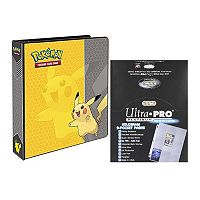 Ultra Pro Pokémon Pikachu Card Album & 9-Pocket Sheets Set