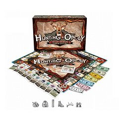 Late For The Sky Hunting-opoly Board Game