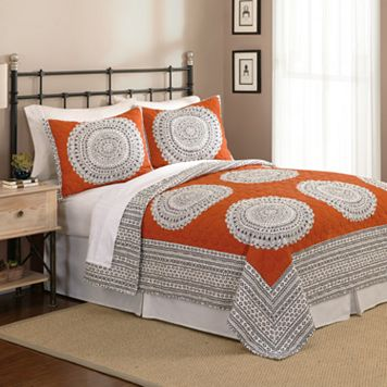 Dry Goods Artistic 3-pc. Queen Quilt Set