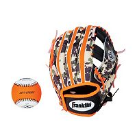 Franklin Performance Series 9.5 in Right Hand Throw T-Ball Glove & Ball Combo - Youth