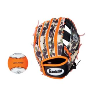 Franklin Performance Series 9.5-in. Right Hand Throw T-Ball Glove & Ball Combo - Youth