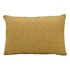 Kathy Ireland Beaded Throw Pillow