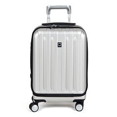 Delsey Titanium 19-Inch International Hardside Spinner Carry-On Luggage