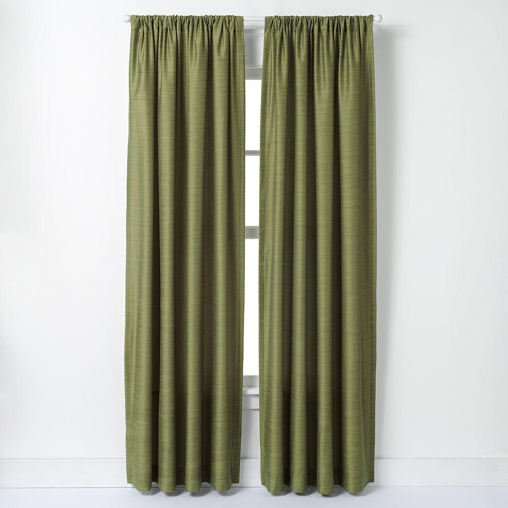 Window Curtainworks Faux-Silk Road Lined Window Curtain