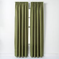 Window Curtainworks Faux-Silk Road Lined Window Curtain
