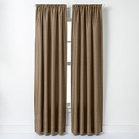 Curtainworks Faux-Silk Road Lined Curtain