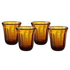 Artland Savannah 4 pc Double Old-Fashioned Glass Set