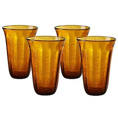 Artland Savannah 4 pc Highball Glass Set