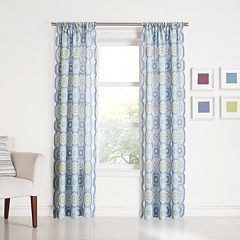 No 918 1-Panel Daphne Window Curtain