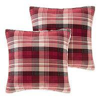 Woolrich Brewster Plaid Throw Pillow 2 pc Set