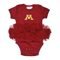 Baby Minnesota Golden Gophers Tutu Bodysuit