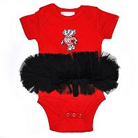 Baby Wisconsin Badgers Tutu Bodysuit