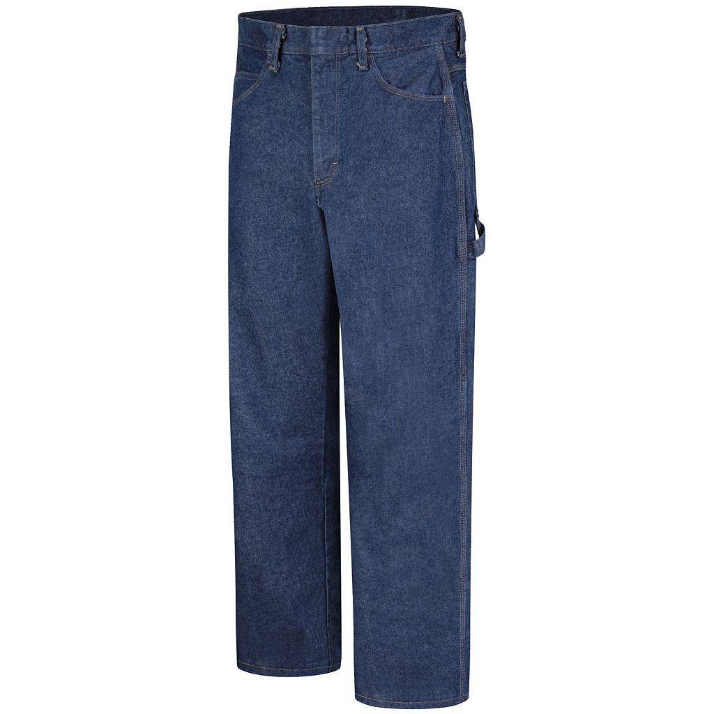Men's Bulwark FR EXCEL FR Pre-Washed Dungaree Jeans