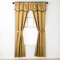 United Curtain Co. Burlington 5-pc. Window Treatment Set