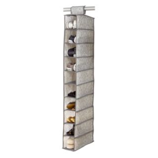 Laura Ashley Non-Woven 10-Shelf Shoe Storage Organizer