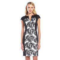 Connected Apparel Soutache Sheath Dress - Women's
