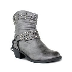Olivia Miller Avery Women's Slouch Motorcycle Boots