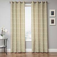 Softline Kaila Geometric Window Curtain