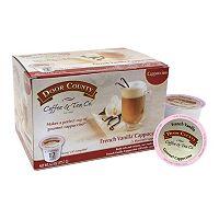Door County Coffee & Tea Co. Single-Serve French Vanilla Cappuccino - 12-pk.