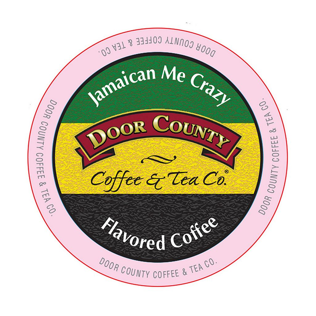Door County Coffee & Tea Co. Single-Serve Jamaican Me Crazy Medium Roast Coffee - 12-pk.