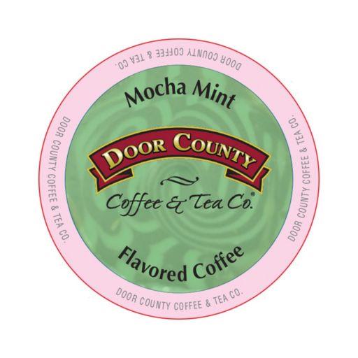 Door County Coffee & Tea Co. Single-Serve  Mocha Mint Medium Roast Coffee - 12-pk.
