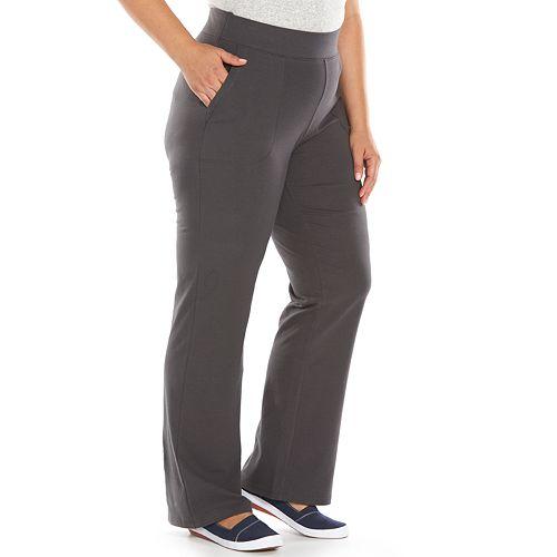 3b58c2e780 Plus Size SONOMA Goods for Life™ Flare Yoga Pants