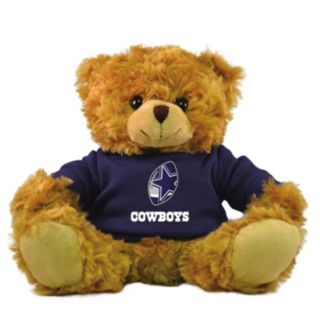 "Bleacher Creatures Dallas Cowboys 9"" Rally Men Hoodie Bear"