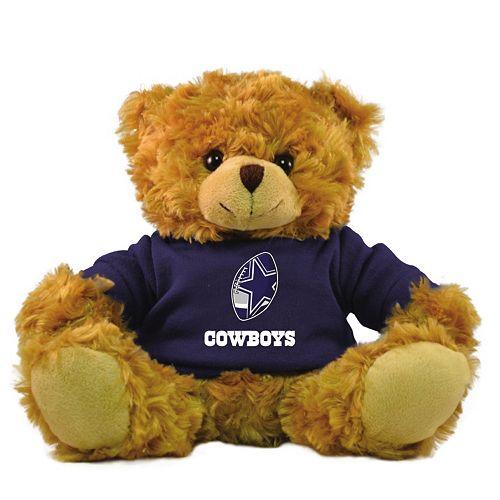 "Bleacher Creatures Dallas Cowboys 9"" Rally Men Hoodie Bear"