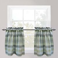 Park B. Smith Sumatra Tier Kitchen Window Curtain Set