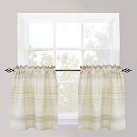 Park B. Smith Sumatra Tier Window Curtain Set