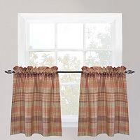 Park B. Smith Sumatra Tier Kitchen Window Curtain Set